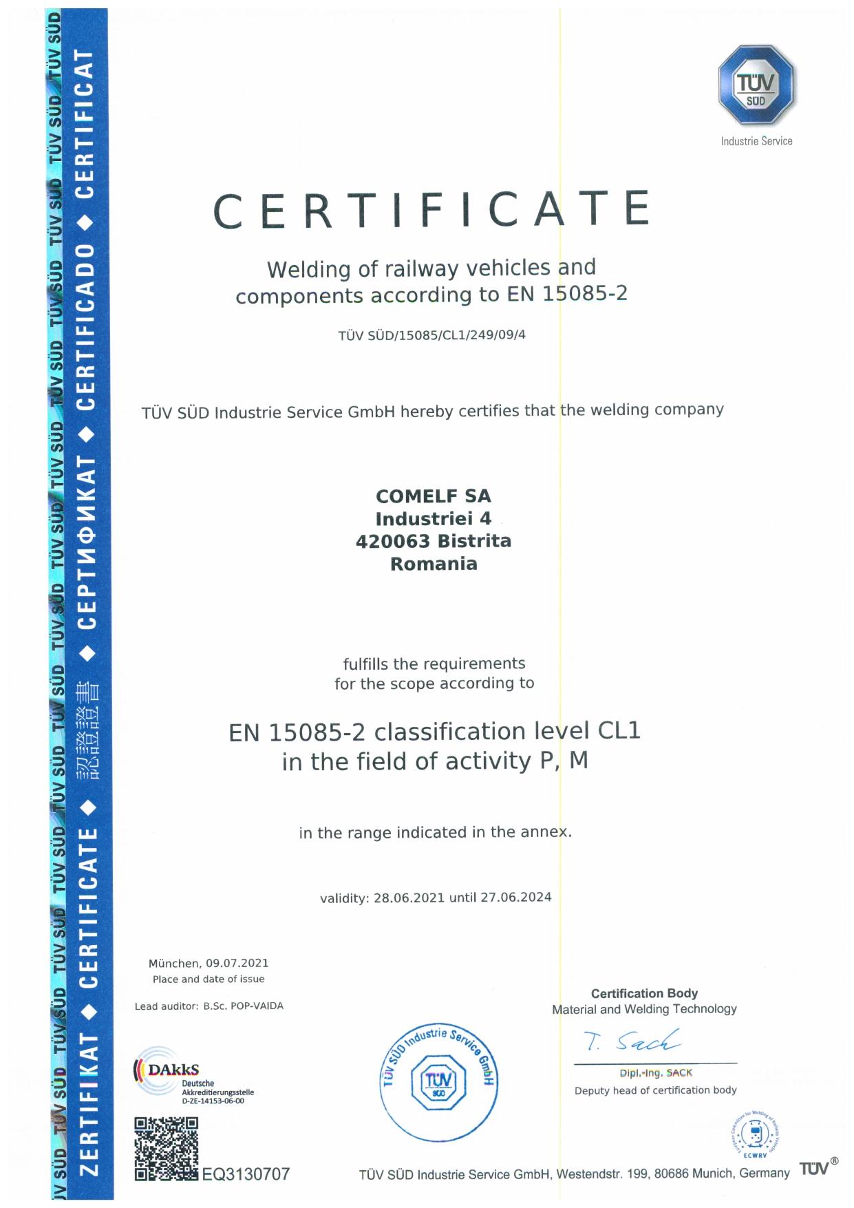 CERTIFICAT ISO 9001-ISO 14001-ISO 45001