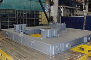 Frames for turbines, compressors, generators