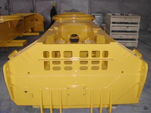 Components for trans-container handling machines